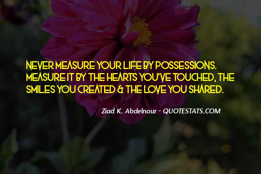 How To Measure Love Quotes #135879