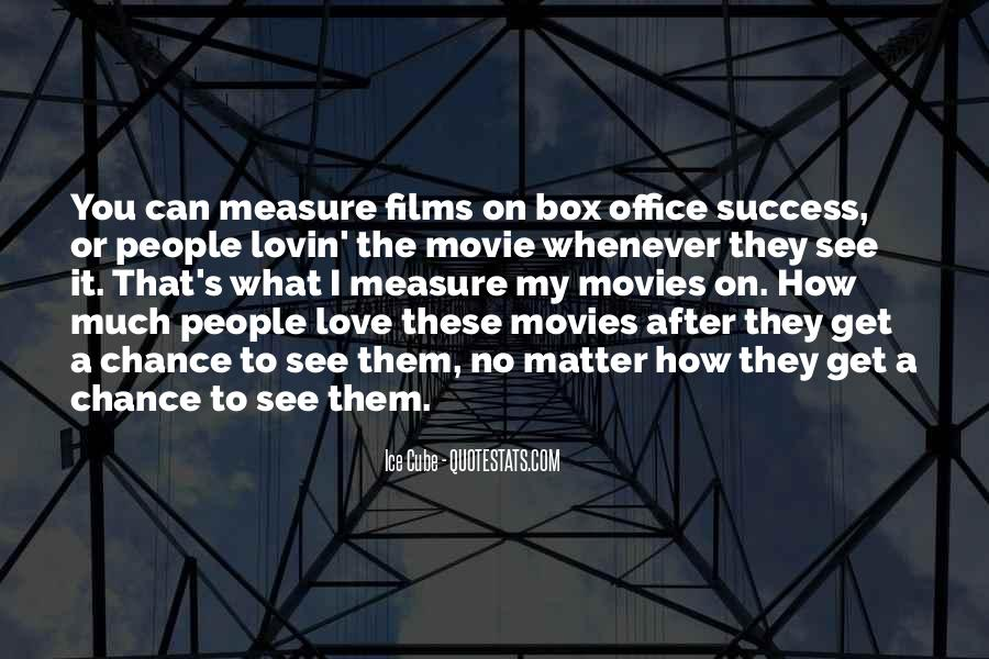 How To Measure Love Quotes #1552110