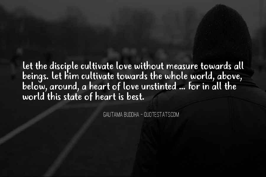 How To Measure Love Quotes #158970