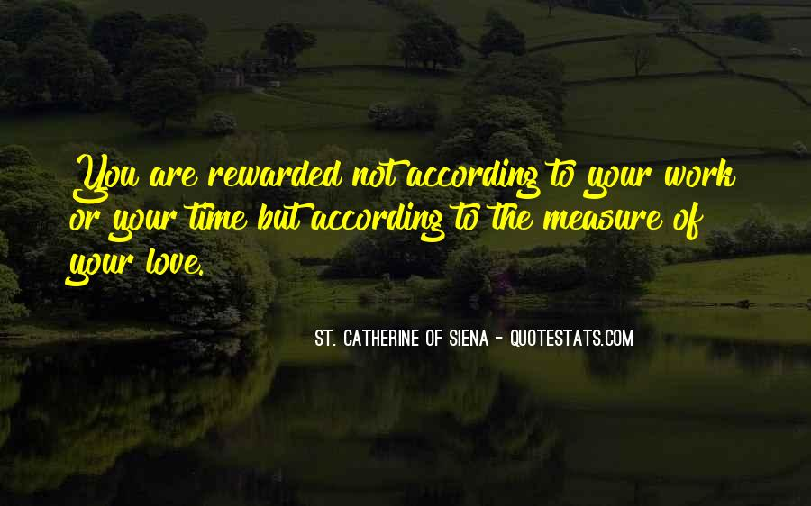 How To Measure Love Quotes #168001