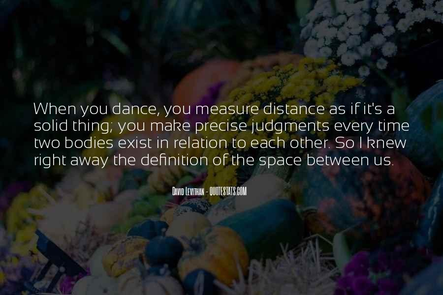 How To Measure Love Quotes #169538