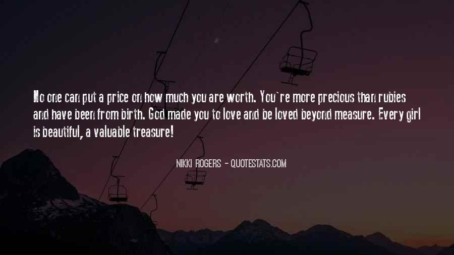 How To Measure Love Quotes #1777708