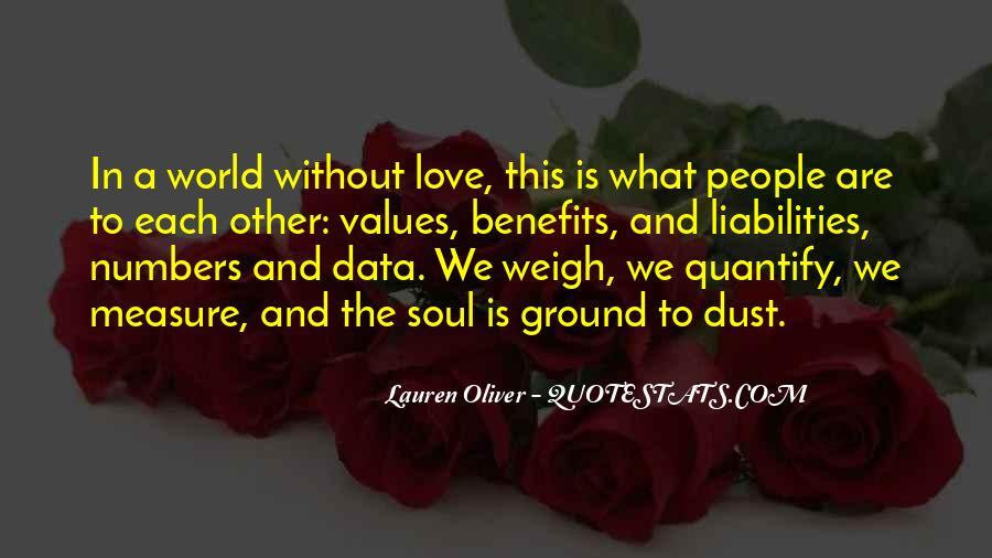 How To Measure Love Quotes #280891