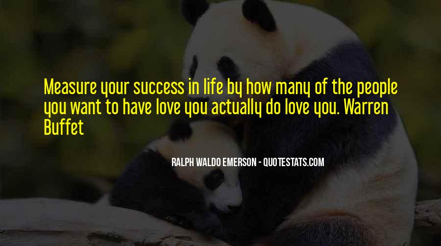 How To Measure Love Quotes #30899