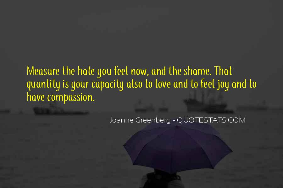 How To Measure Love Quotes #347719