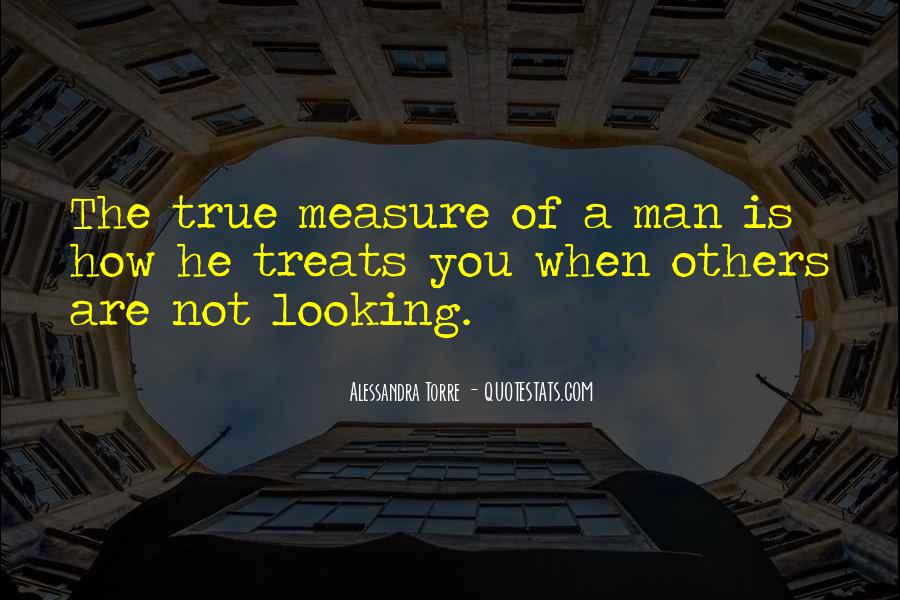 How To Measure Love Quotes #448315