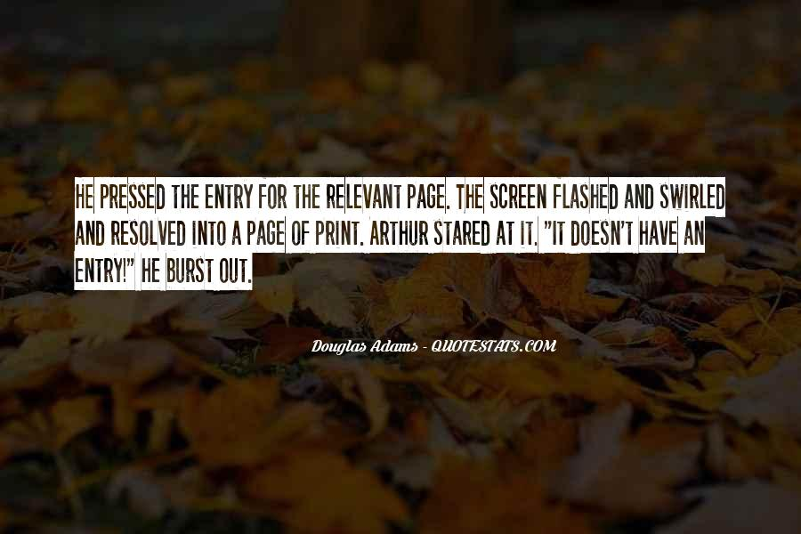 Quotes About Flashed #471282