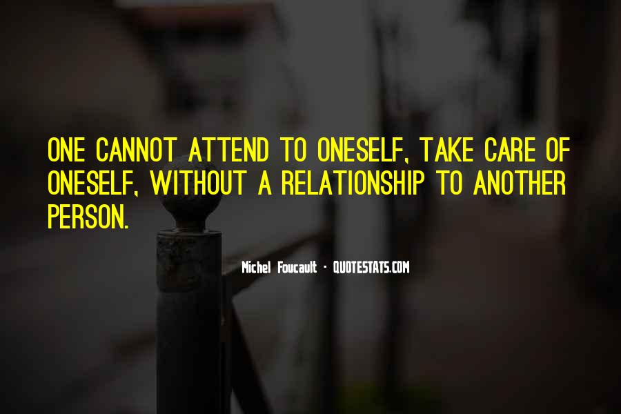 How To Take Care Of Your Relationship Quotes #34657