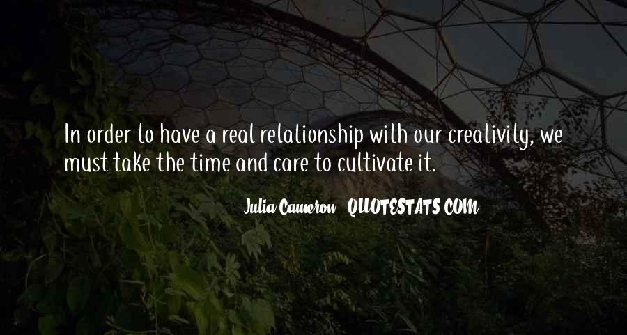 How To Take Care Of Your Relationship Quotes #460898