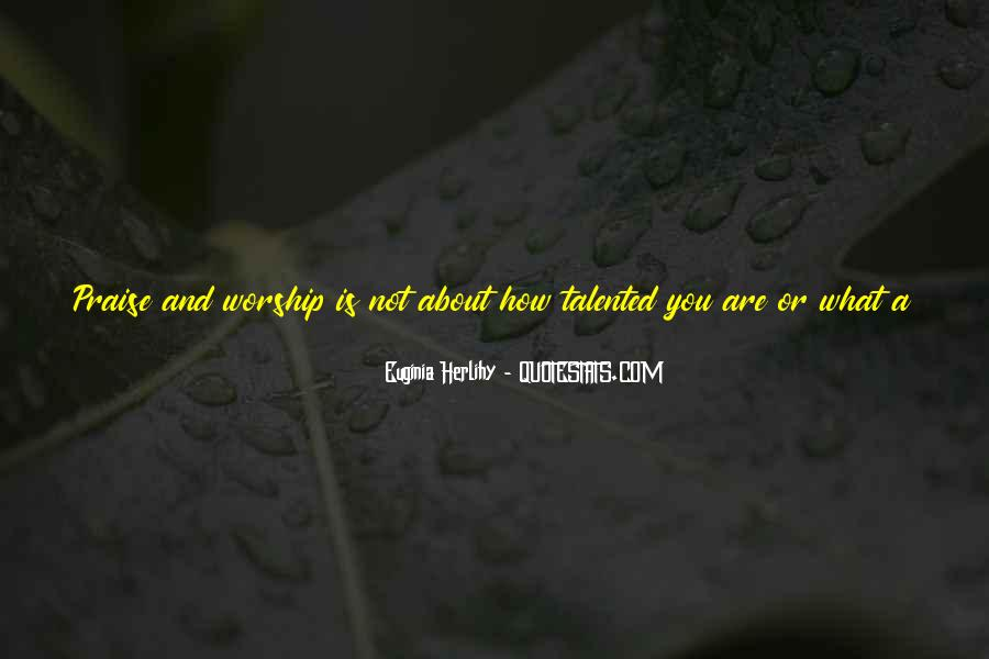 How Wonderful You Are Quotes #1463151