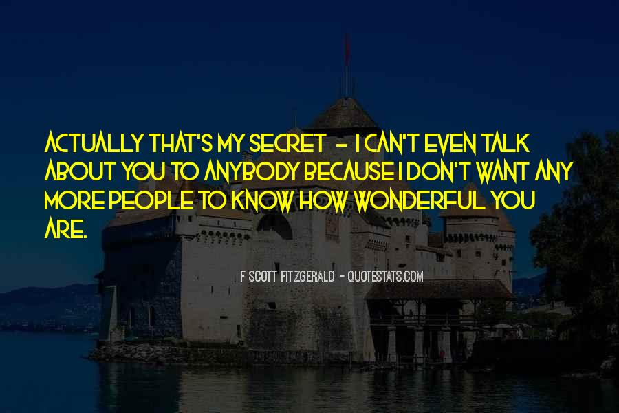 How Wonderful You Are Quotes #815681