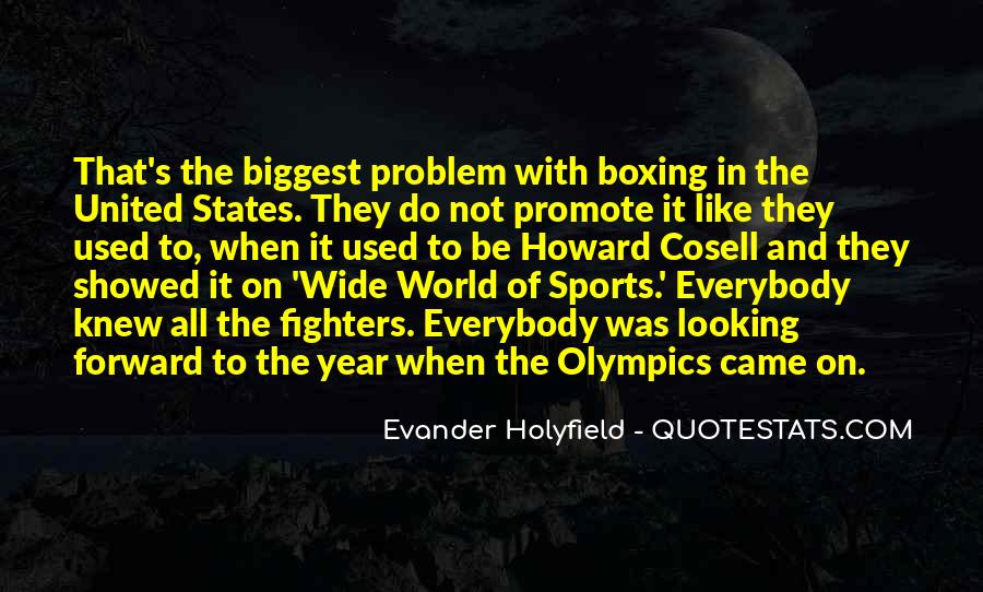Howard Cosell Boxing Quotes #1403962