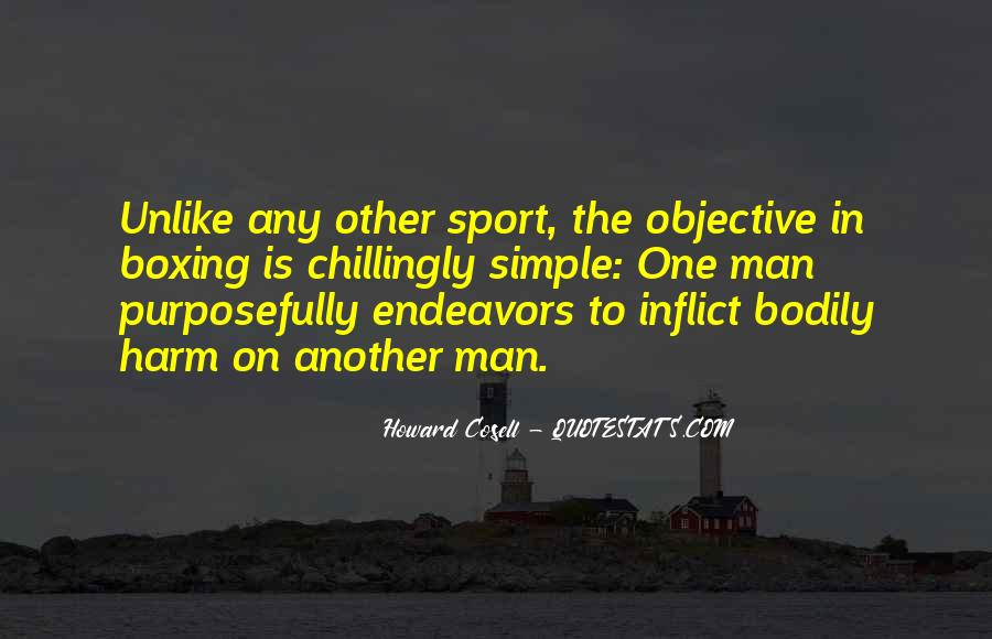 Howard Cosell Boxing Quotes #856552