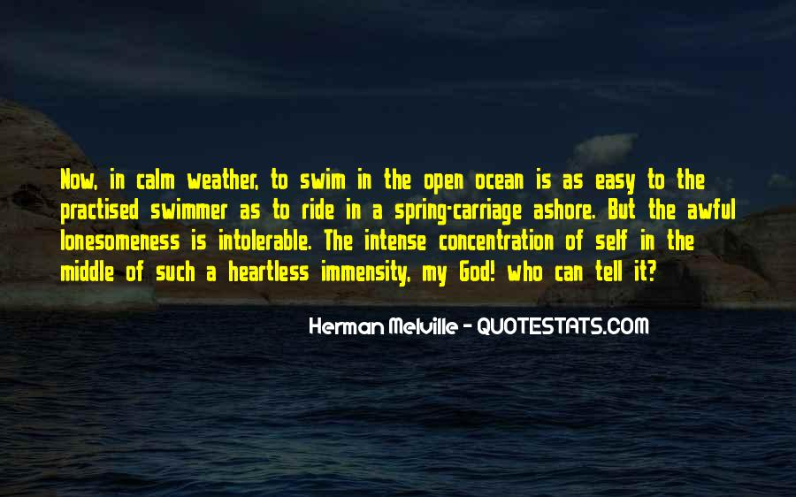 Quotes About The Calm Ocean #1509364