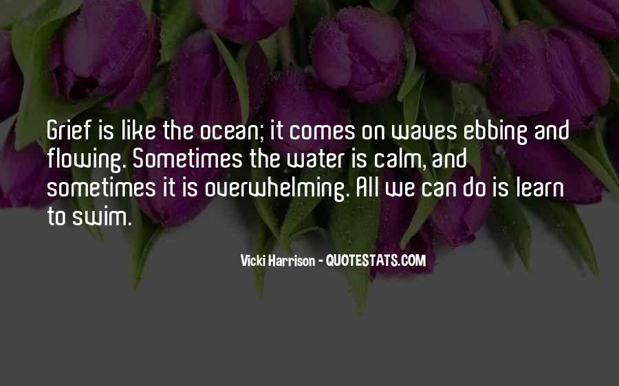Quotes About The Calm Ocean #1755953