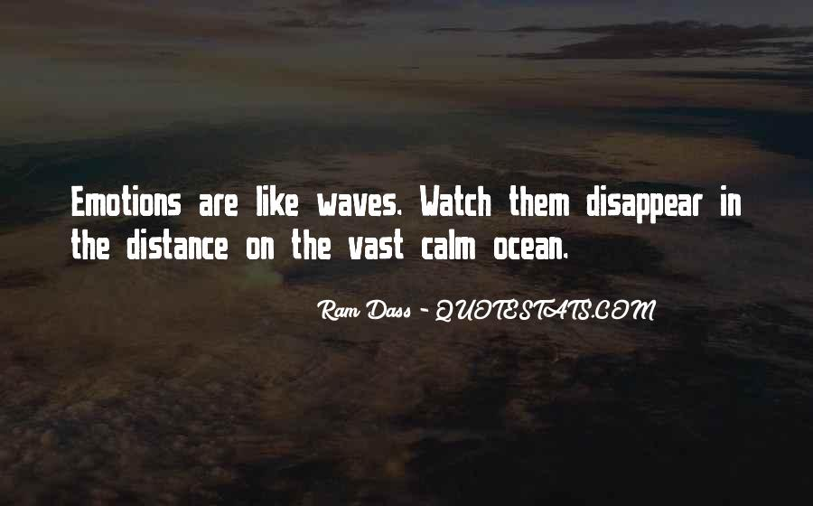 Quotes About The Calm Ocean #466297