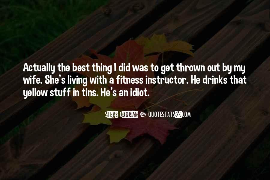 Quotes About Fitness Funny #1236854