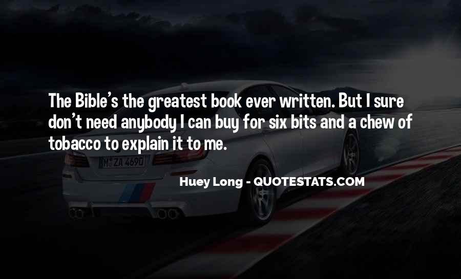 Huey Quotes #662582