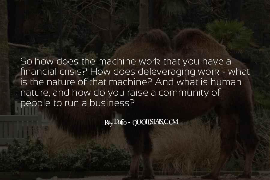 Human And Machine Quotes #1067305