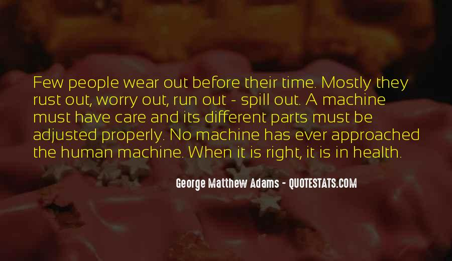Human And Machine Quotes #1208504