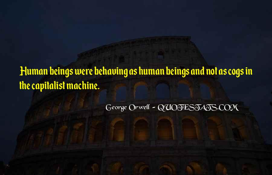 Human And Machine Quotes #1209782
