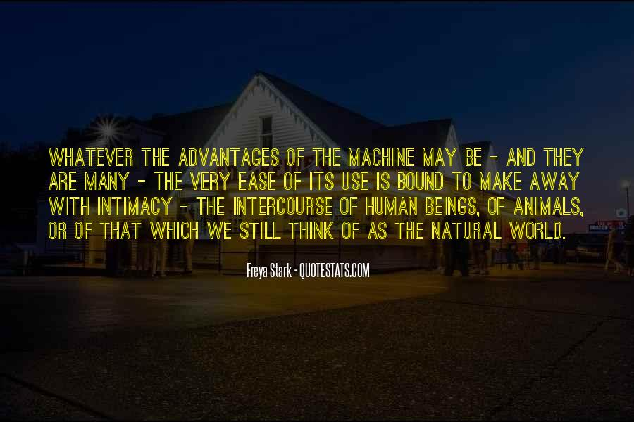 Human And Machine Quotes #1236466