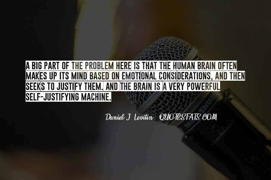 Human And Machine Quotes #1257777