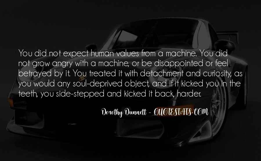 Human And Machine Quotes #1512915