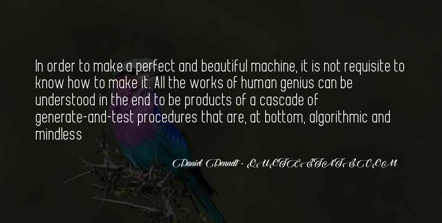 Human And Machine Quotes #1593315