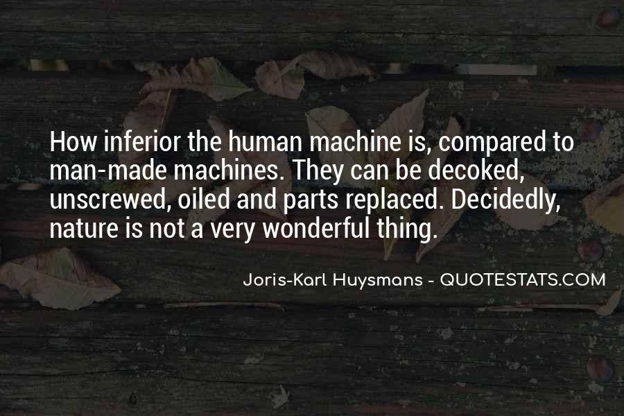 Human And Machine Quotes #1638883