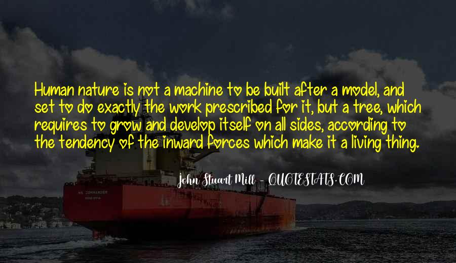 Human And Machine Quotes #247552