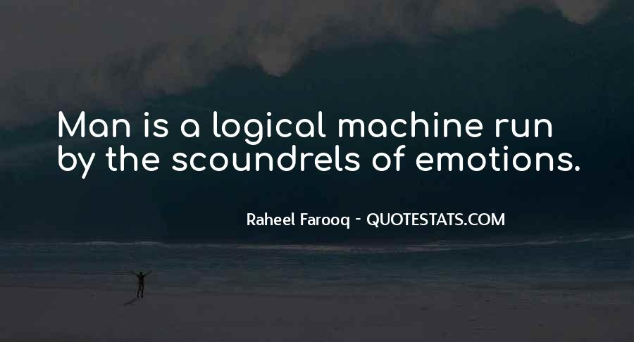 Human And Machine Quotes #257361