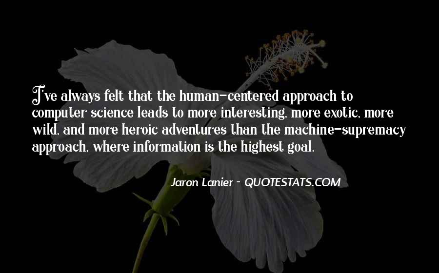 Human And Machine Quotes #260923
