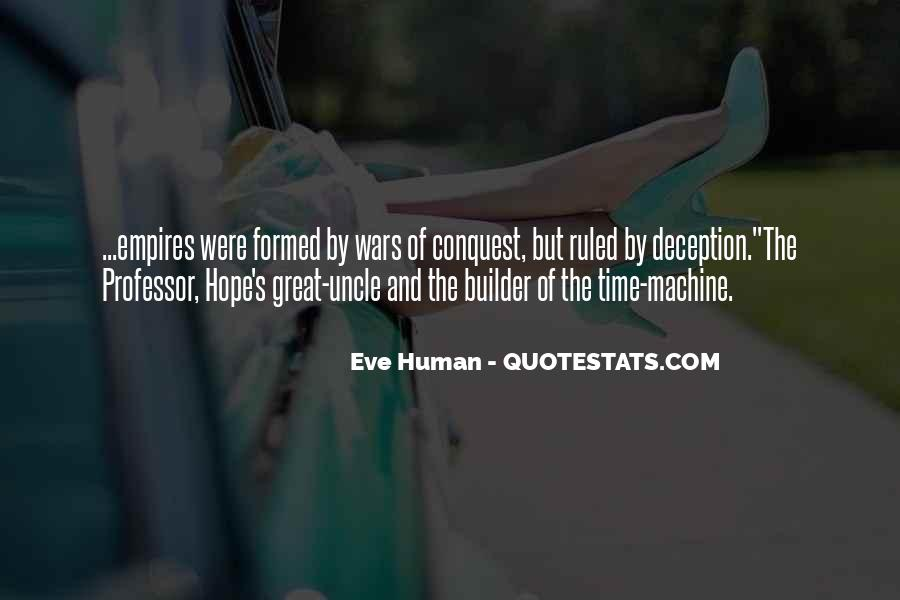 Human And Machine Quotes #26701