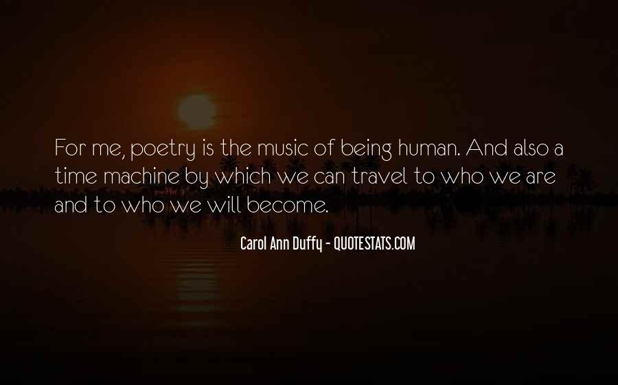 Human And Machine Quotes #814939