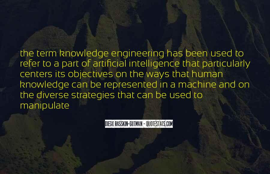 Human And Machine Quotes #869328