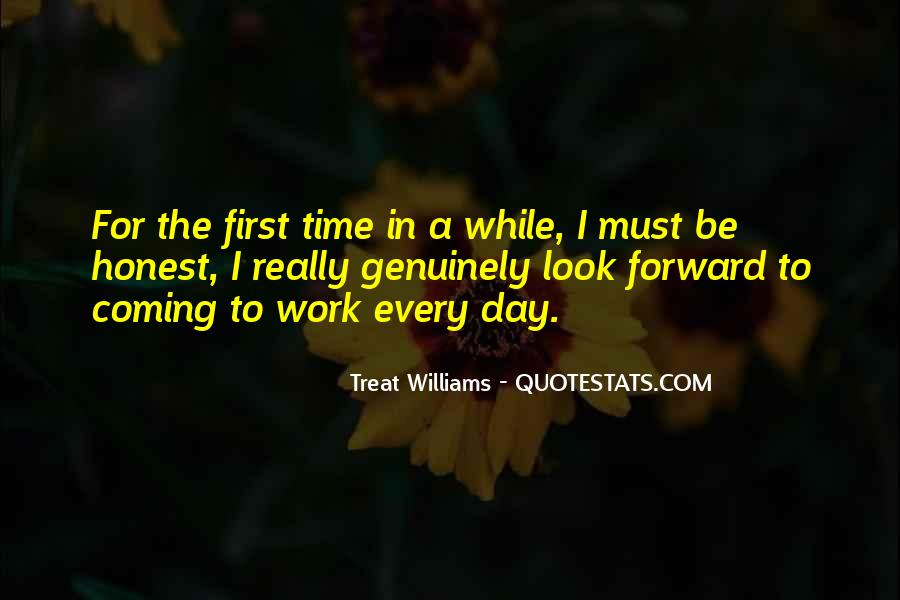Quotes About First Time In Work #1277029