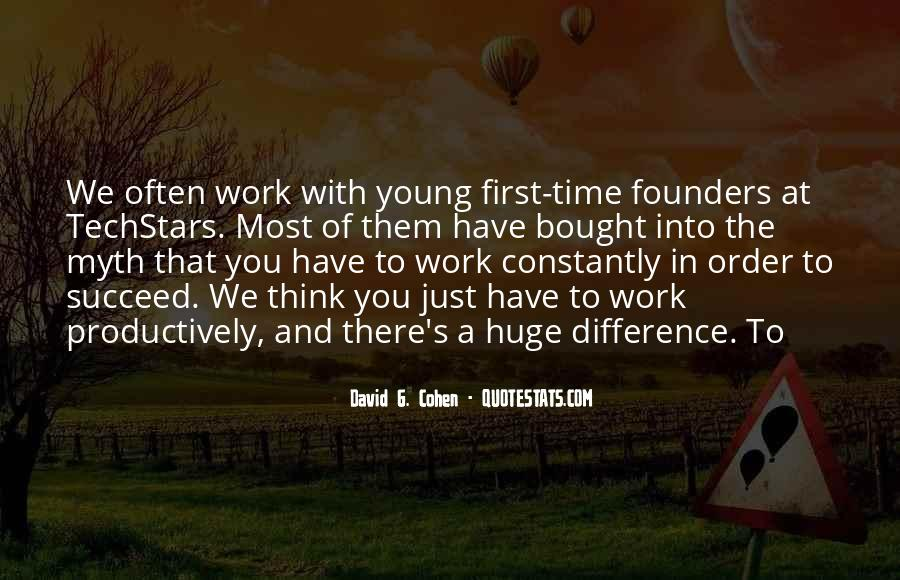 Quotes About First Time In Work #1629250