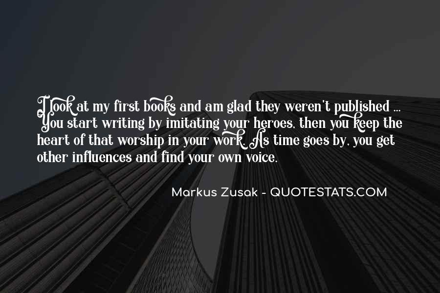 Quotes About First Time In Work #220258