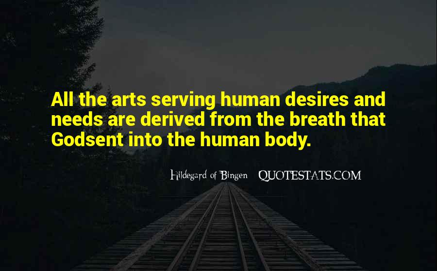Human Body And Art Quotes #1121971
