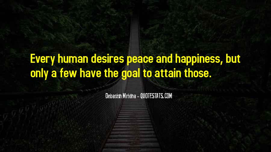 Human Desires Quotes #1094273