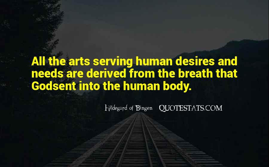 Human Desires Quotes #1121971