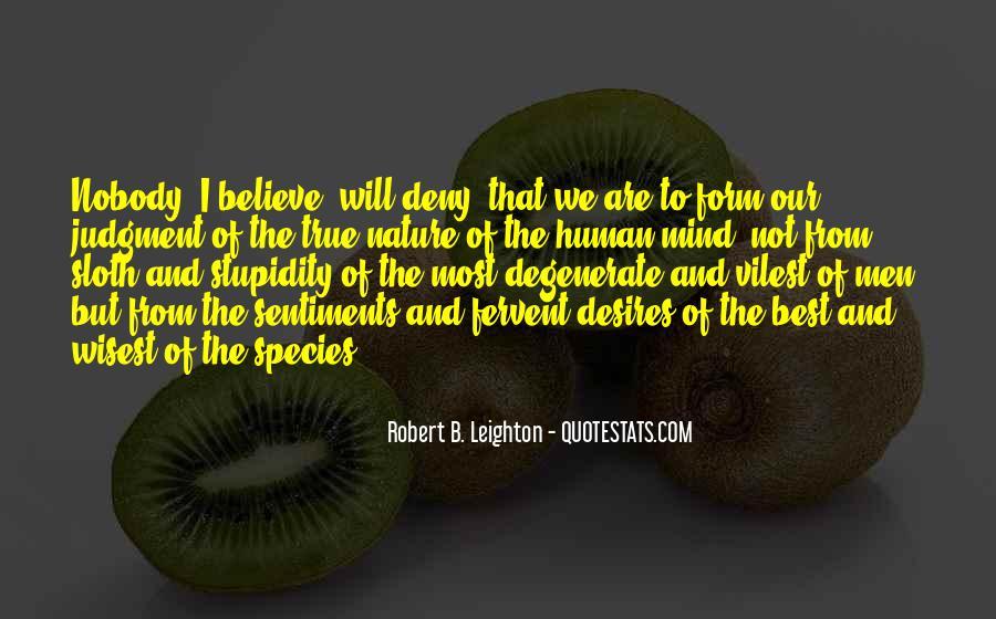 Human Desires Quotes #1155999