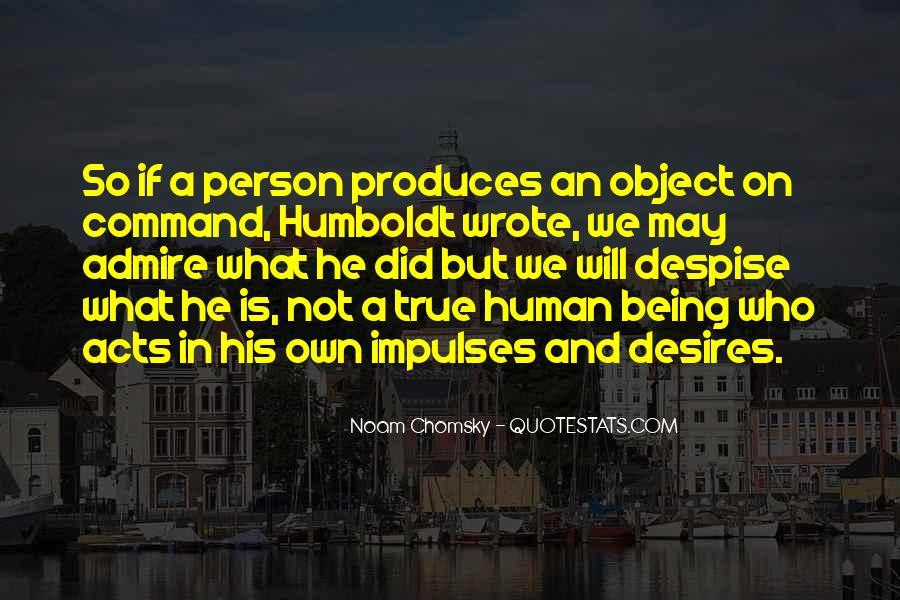 Human Desires Quotes #121375