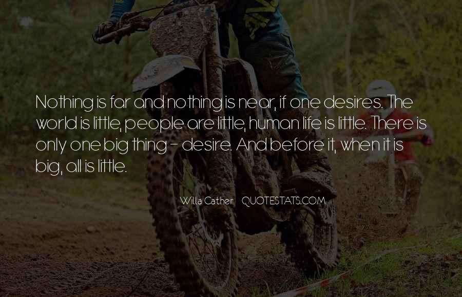 Human Desires Quotes #1270196