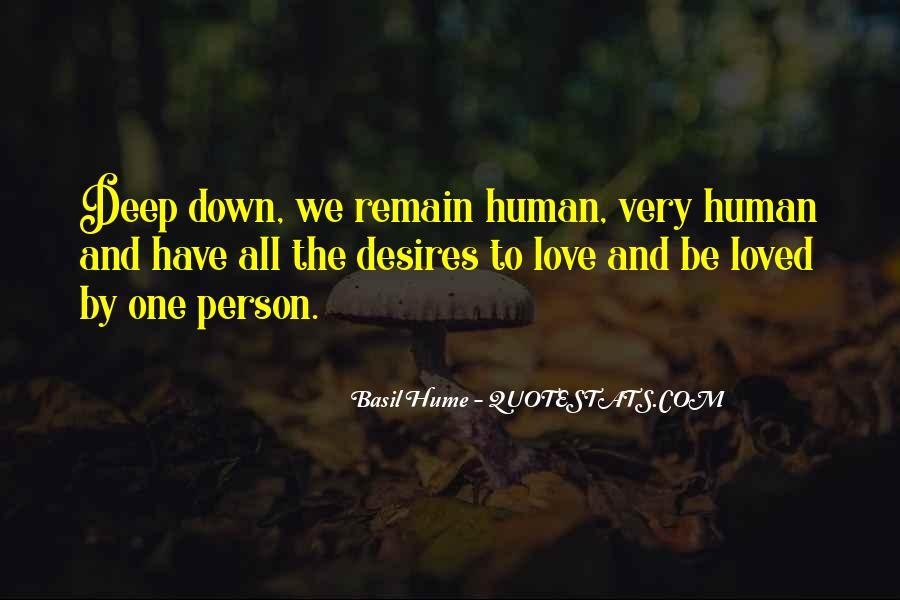 Human Desires Quotes #1279789