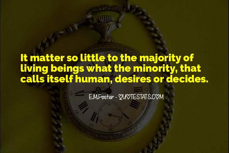 Human Desires Quotes #1285701