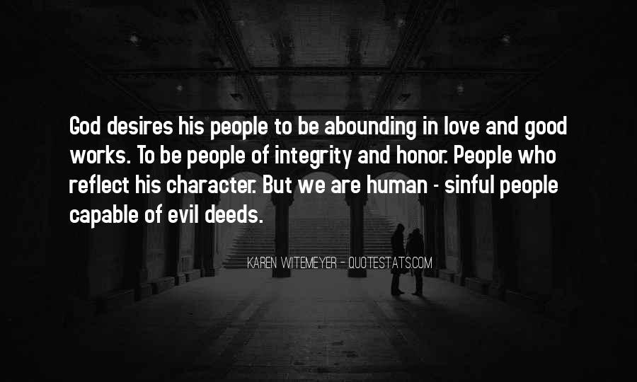 Human Desires Quotes #1298956