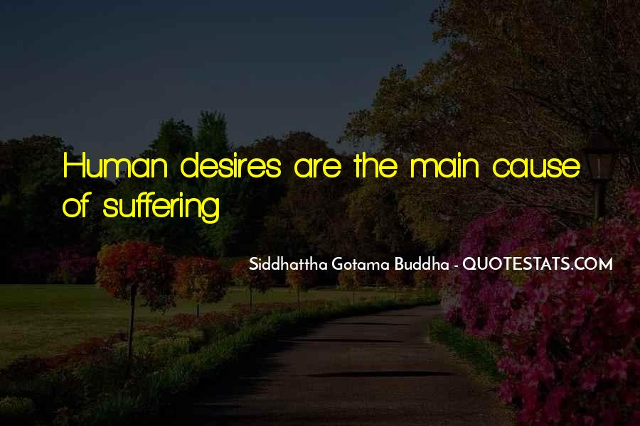 Human Desires Quotes #1356021
