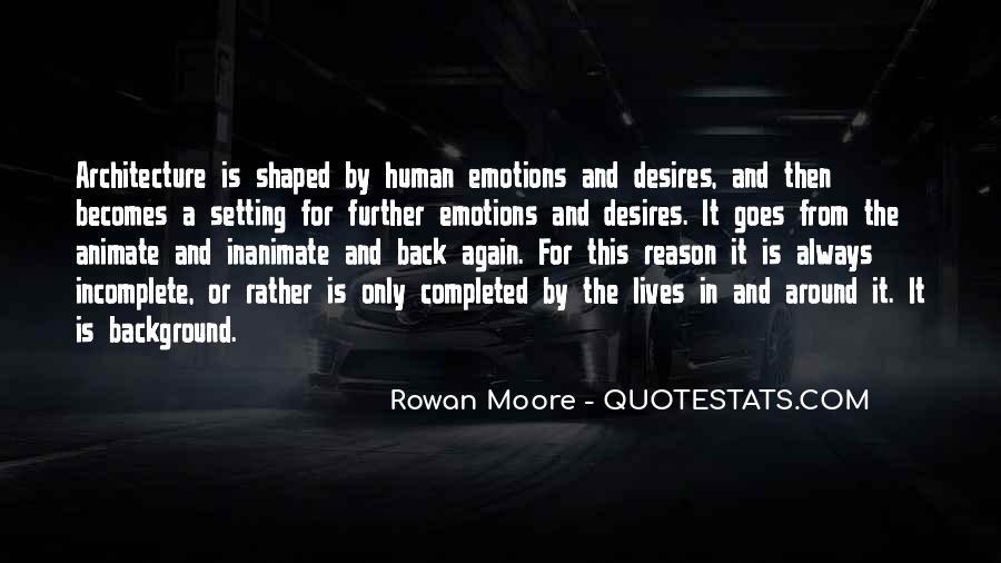 Human Desires Quotes #1422370